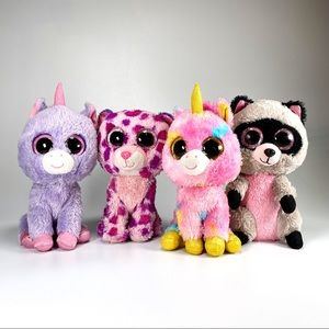 Ty Beanie Boo Lot of 4